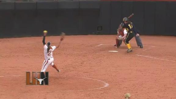 Iowa Softball Defeats Texas, 6-5