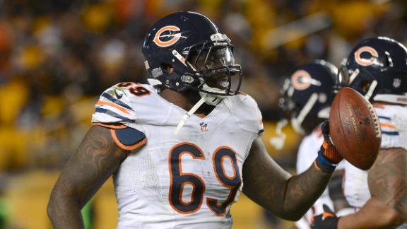 Cowboys agree with former Bears DT Melton