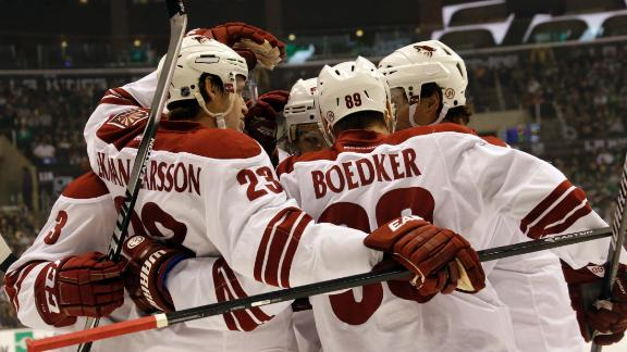 Video - Coyotes Rally Past Kings