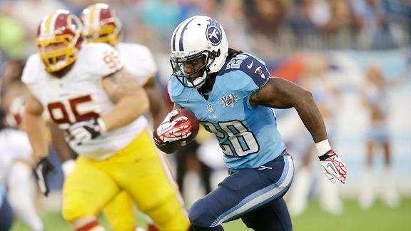 Video - Titans Shopping Chris Johnson