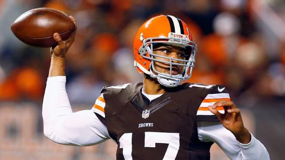 Bengals sign former Browns QB Campbell