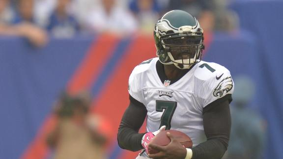 Jets QB Smith: Signing of Vick is 'awesome'