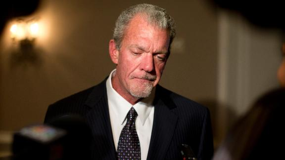 GM: Colts would run through wall for Irsay