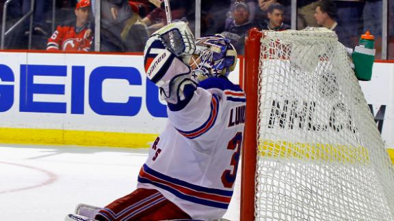 Video - Lundqvist Makes Rangers History