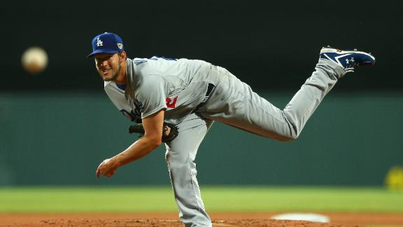 Video - Kershaw Stifles Diamondbacks In Opener