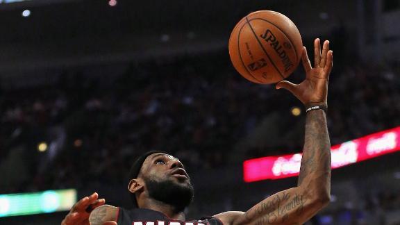 Video - LeBron Throws Down On Inbound Dunk
