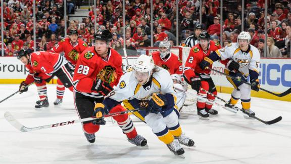 Video - Predators Blank Blackhawks In Physical Battle