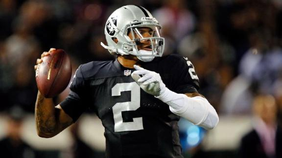 Raiders QB Pryor hopes for release or trade