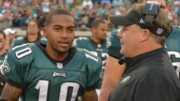 Kelly: 'I like DeSean,' but Eagles' needs first