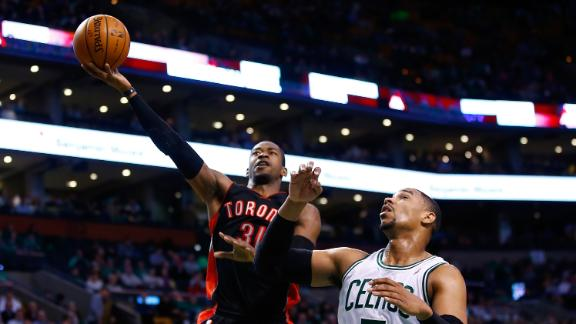 Video - Raptors Pull Away From Celtics