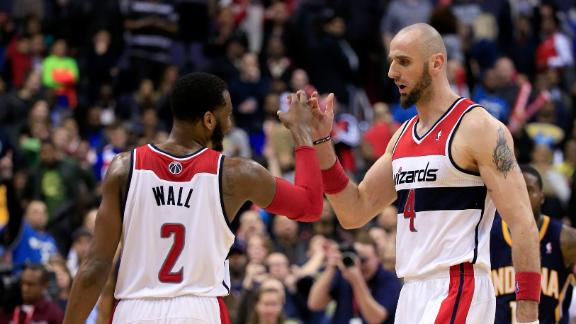 Wizards burn cold, turnover-prone Pacers
