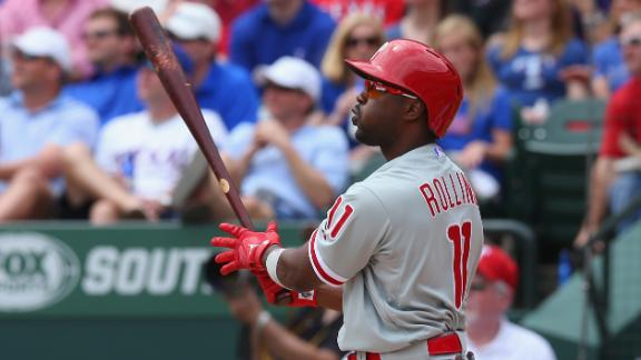 Video - Phillies Outlast Rangers In Opener