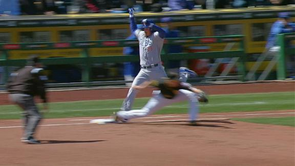 Cubs' Renteria first to challenge via replay