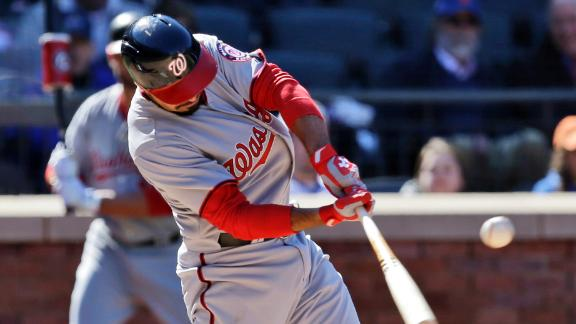 Rendon's 10th inning blast lifts Nats by Mets
