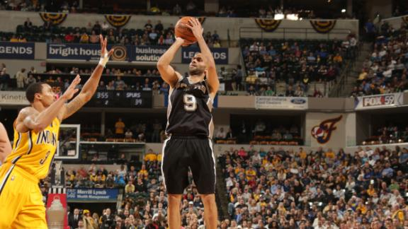 Spurs rout Pacers, extend win streak to 18