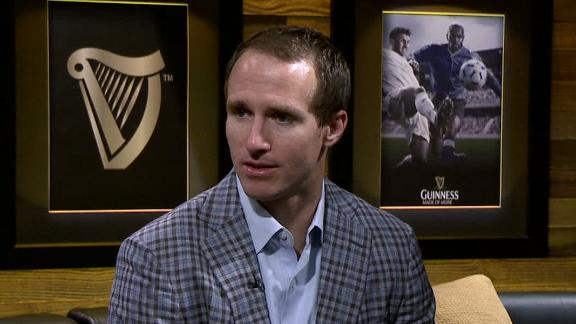 Video - Drew Brees In The Guinness Suite