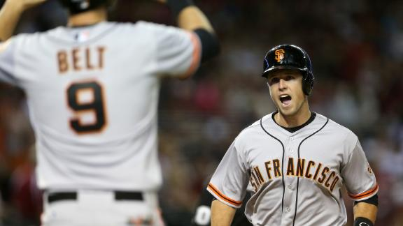 Posey HR caps Giants' rally over D-backs