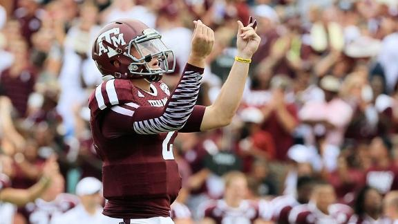Manziel bids for 'House That Johnny Built'