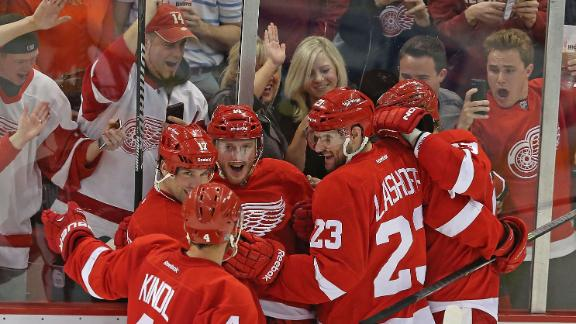 Video - Red Wings Rally Past Bruins