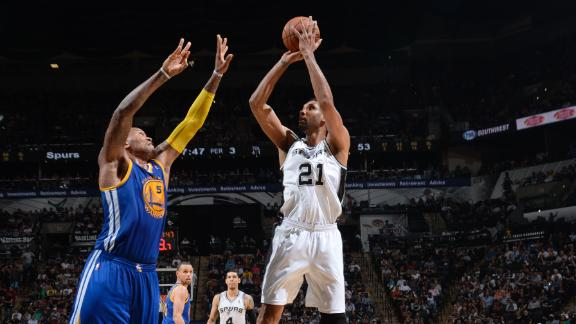 Spurs stretch streak to 19 against Warriors
