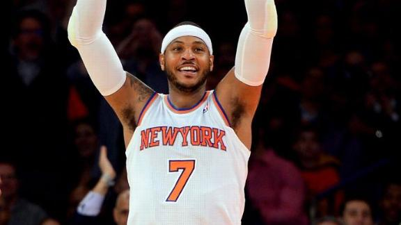 Phil: Melo bearing bulk of Knicks' struggles