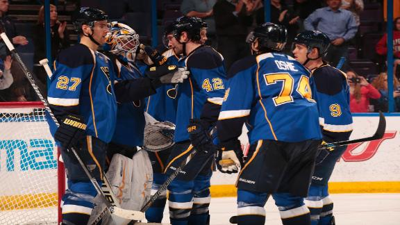 Video - Blues Hold Off Sabres