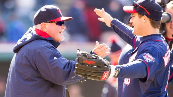 Twins beat Indians in Gardenhire's 1,000th win