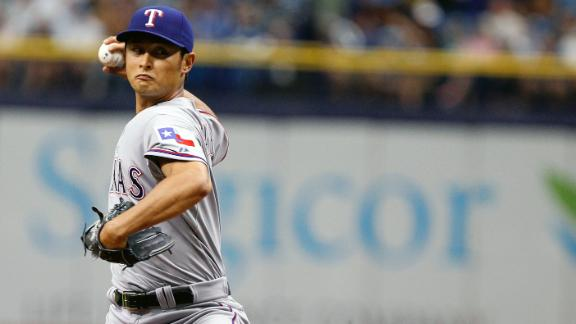 Darvish returns to help Rangers blank Rays