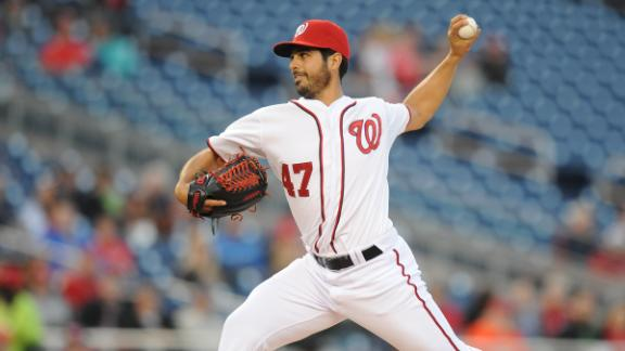 Nationals' Gonzalez, bullpen blank Marlins
