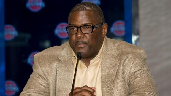 Sources: Pistons' Dumars intends to resign