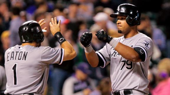 Video - White Sox Trounce Rockies