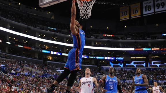 Westbrook, Thunder ward off Griffin, Clips