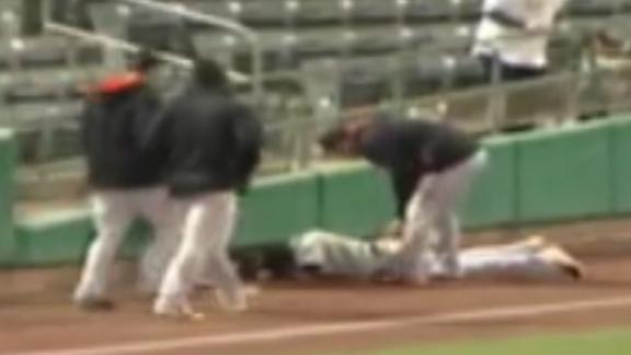 Video - Athlete's Crushing Collision With Wall