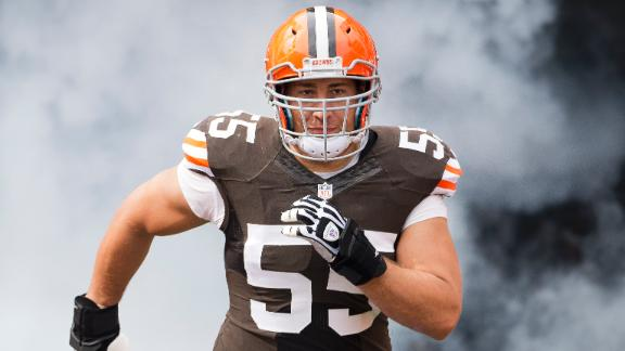 alex mack browns jersey