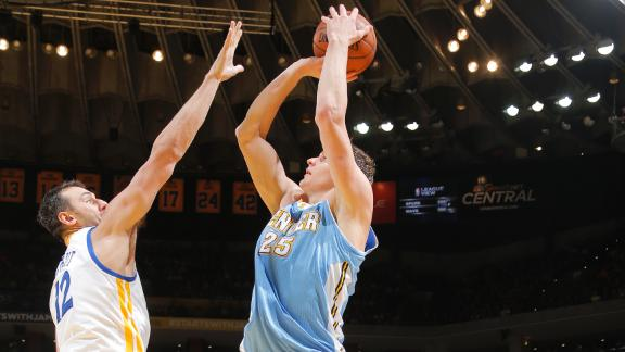 Faried, Nuggets nullify Curry's clutch theatrics