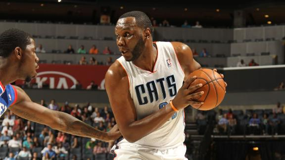 Jefferson powers Bobcats to win over 76ers