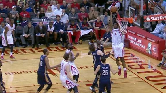 Harden leads Rockets' rally against Pelicans