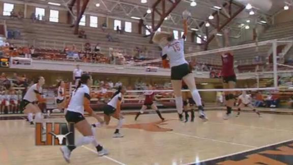 Texas Takes Down New Mexico St. in Exhibition