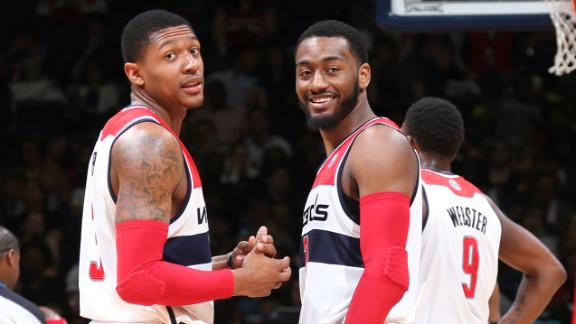 Wizards top Bucks, close in on No. 6 seed
