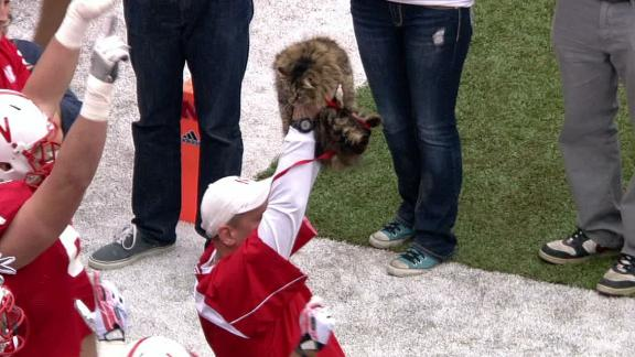 Nebraska Debuts New Mascot At Spring Game