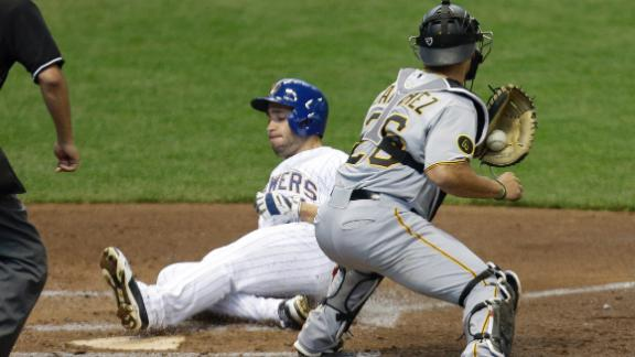MLB-best Brewers (10-2) win 9th straight