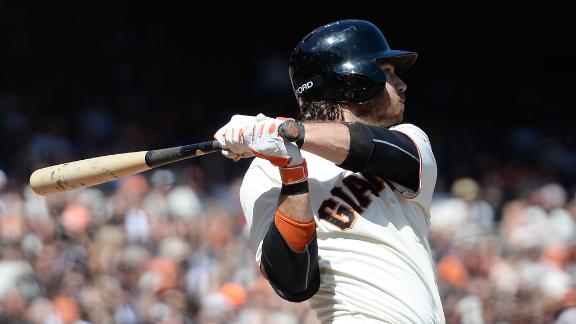 Giants walk off on Crawford's homer in 10th