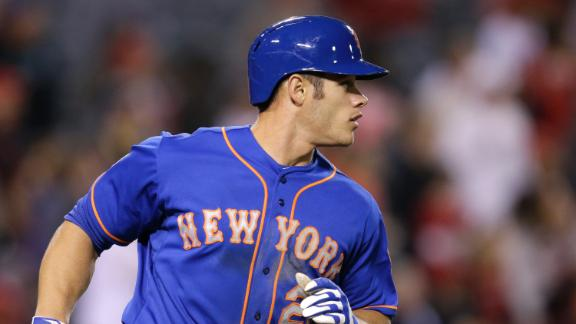 Mets beat Angels in 13th on Recker's HR