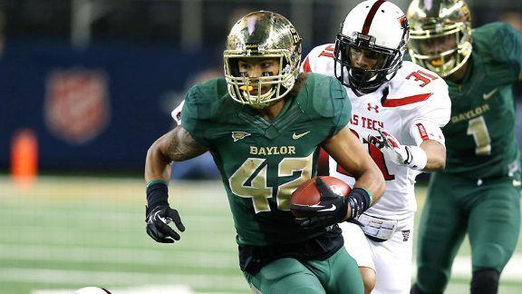 Baylor WR Levi Norwood