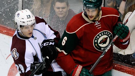 Avalanche Face Wild In First Round