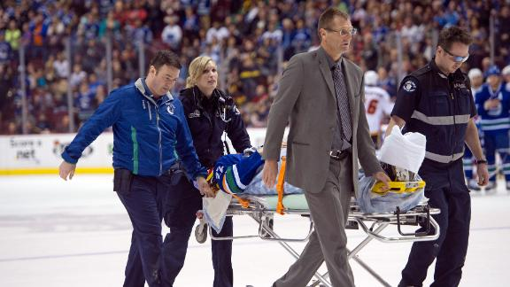 Video - Scary Incident In Canucks' Finale