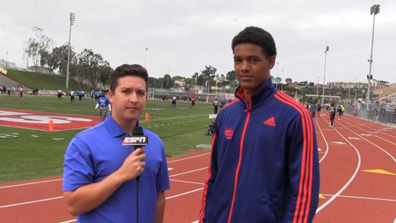 St. Brown talks USC, Stanford and more