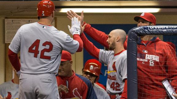 Video - Cardinals Fly By Brewers