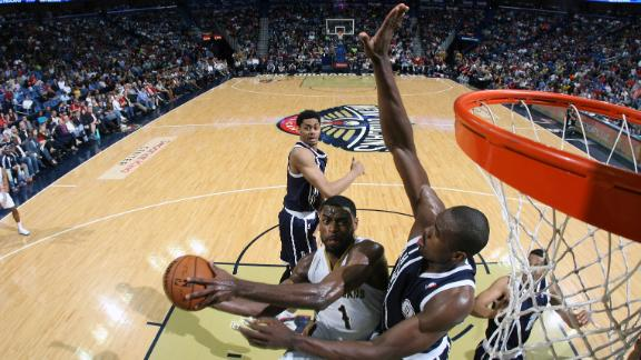 Video - Evans' Big Game Propels Pelicans