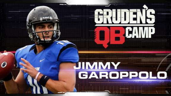 Gruden's QB Camp: Jimmy Garoppolo